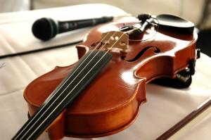 Mic en viool